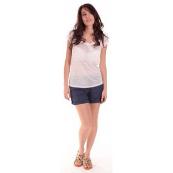 Vêtements Femme T-shirts manches courtes Sud Express TEE-SHIRT TARIKA BLANC Blanc