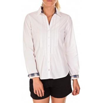 Vêtements Femme Chemises / Chemisiers Tom Tailor Chemise Beatrix Blanche Blanc