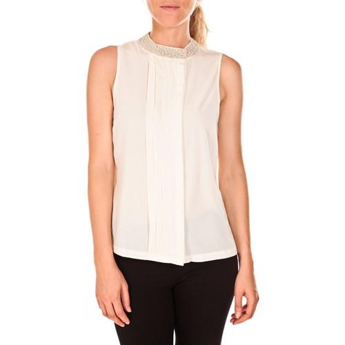Vêtements Femme Tops / Blouses Vero Moda Haut ARMA 82935 Blanc Blanc