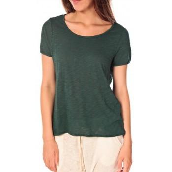 Vêtements Femme T-shirts manches courtes Vero Moda Top 86062 Vert Vert