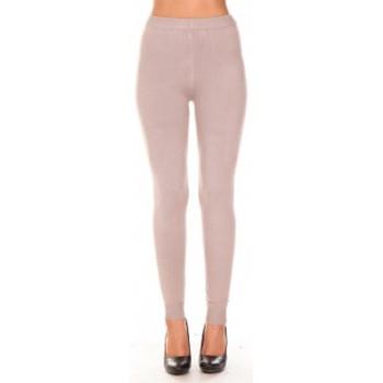 Vêtements Femme Leggings Vision De Reve vision de rêve Legging 1063 taupe Marron