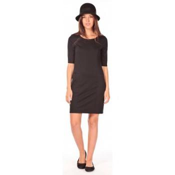 Vêtements Femme Robes courtes Vero Moda Lynette 2/4 pocke dress noir Noir