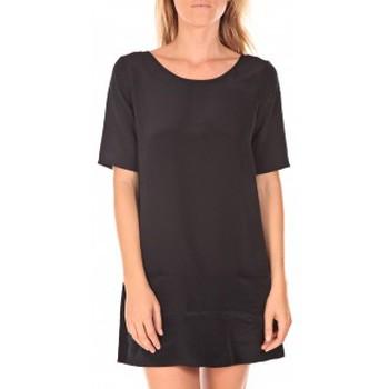 Vêtements Femme Robes courtes Vero Moda Rose 2/4  Robe  wall Aug noir Noir