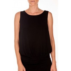 Vêtements Femme Débardeurs / T-shirts sans manche Vero Moda BELFAST SL TOP EA noir Noir
