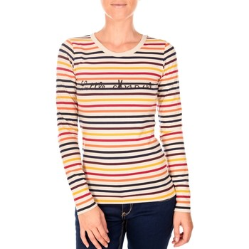 Vêtements Femme T-shirts manches longues Little Marcel LINE RDC ML MULTICO 234 multicolor Multicolor