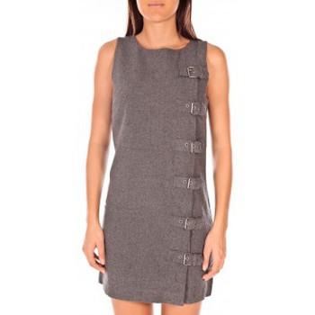 Vêtements Femme Robes courtes Vero Moda Galexion SL Short Dress EA Gris