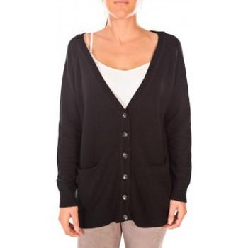 Vêtements Femme Gilets / Cardigans Vero Moda Snipes LS Oversize Cardigan Noir Noir