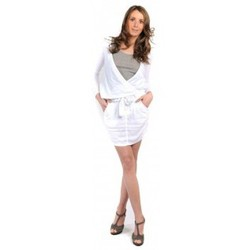Vêtements Femme Jupes Sud Express JUPE COURTE JIRONI BLANC Blanc