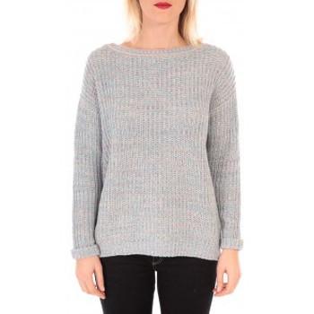 Vêtements Femme Pulls Vero Moda WOODPECKER LS BOATNECK KM Bleu Bleu