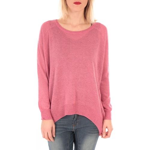 Vêtements Femme Pulls Vero Moda PRIME LS OVERSIZE BLOUSE KM Rose Rose