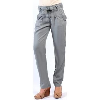 Vêtements Femme Pantalons Sud Express PANTALON PIROIR CIMENT Gris