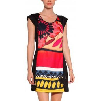 Vêtements Femme Robes courtes Desigual VEST_JUANA Robe 31V2858  Noir Noir