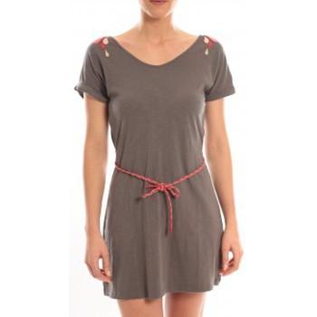 Vêtements Femme Robes courtes Blune Robe Larme de Joie LJ-RF01E13 Grise Gris