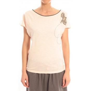 Vêtements Femme T-shirts manches courtes Blune T-Shirt Libre Comme l'Air LCL-TF02E13 Rose Rose