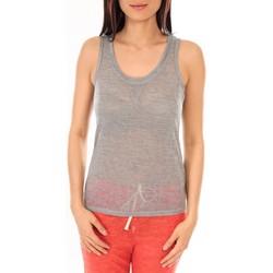 Vêtements Femme Débardeurs / T-shirts sans manche By La Vitrine Débardeur BLV06 Gris Gris
