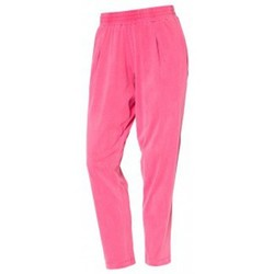 Vêtements Femme Pantalons So Charlotte Pleats jersey Pant B00-424-00 Rose Rose