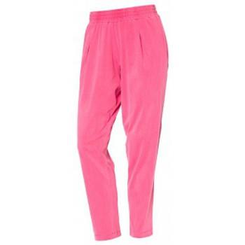 Vêtements Femme Pantalons So Charlotte Pleats jersey Pant B00-424-00 Rose Rose