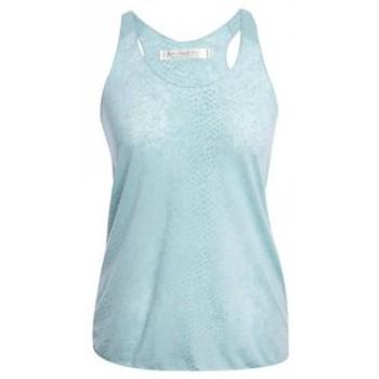Vêtements Femme Débardeurs / T-shirts sans manche So Charlotte Oversize tank Top Snake Burnout T53-371-00 Vert Vert