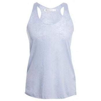 Vêtements Femme Débardeurs / T-shirts sans manche So Charlotte Oversize tank Top Snake Burnout T53-371-00 Gris Gris