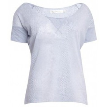 Vêtements Femme T-shirts manches courtes So Charlotte Tight short sleeves Tee all snake T53-406-00 Gris Gris