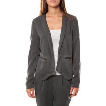 Vêtements Femme Vestes / Blazers Vero Moda KANIO LS BLAZER Asphalt Gris