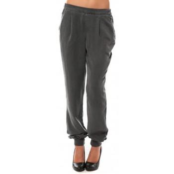 Vêtements Femme Pantalons Vero Moda KANIO NW LOSSE PANT Asphalt Gris