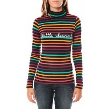 Vêtements Femme T-shirts manches longues Little Marcel DUNKE 250 FN Noir