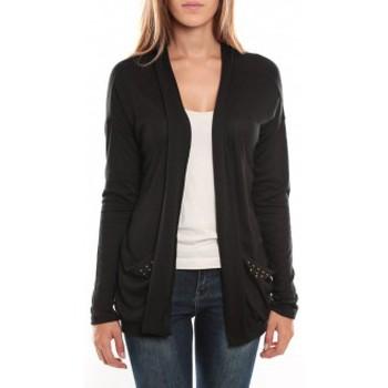 Pull vero moda arusha ls cardigan 96976 noir