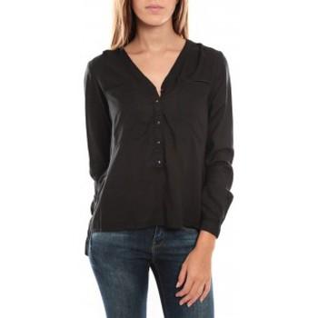 Vêtements Femme Chemises / Chemisiers Vero Moda Horse LS Top 836819 Noir Noir