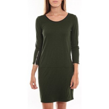 Vêtements Femme Robes courtes Vero Moda Freya 3/4 Short Dress 97250 Vert Vert