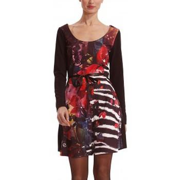 Vêtements Femme Robes courtes Desigual Robe VEST_LIANA 38V2100 Noir