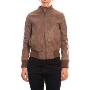 Vêtements Femme Vestes en cuir / synthétiques Comme Des Filles Comme des Garçons Veste Cristina Marron Marron