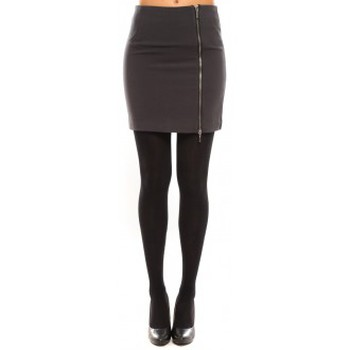 Vêtements Femme Jupes Vero Moda Goss NW Short Skirt 10098577 Gris Gris
