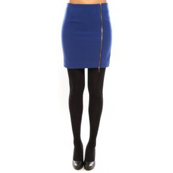 Vêtements Femme Jupes Vero Moda Goss NW Short Skirt 10098577 Bleu Bleu