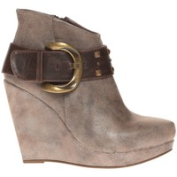 Chaussures Femme Low boots Cassis Côte D'azur Bottines Anaee Belt Bronze Marron