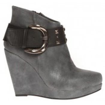 Chaussures Femme Bottines Cassis Côte D'azur Bottines Anaee Belt Noir Noir