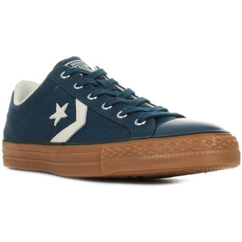 Chaussures Homme Baskets basses Converse Star Player OX bleu