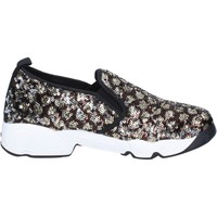 Chaussures Femme Slip ons J. K. Acid chaussures femme  slip on bronze paillettes noir BX746 noir