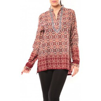 Vêtements Femme Chemises / Chemisiers Dress Code Chemisier SHK F323 Rouge Rouge