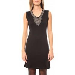 Vêtements Femme Robes courtes Tcqb Robe Perlée 2771 Noir