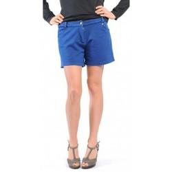 Vêtements Femme Shorts / Bermudas American Vintage SHORT KEY131 INDIGO Bleu