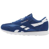 Chaussures Garçon Baskets basses Reebok Sport Classic Nylon Junior - Ref. CN5022 Bleu