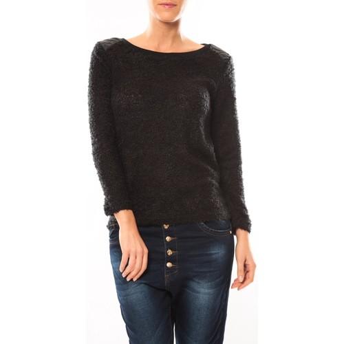 Vêtements Femme Pulls De Fil En Aiguille Pull 1422 Noir Noir