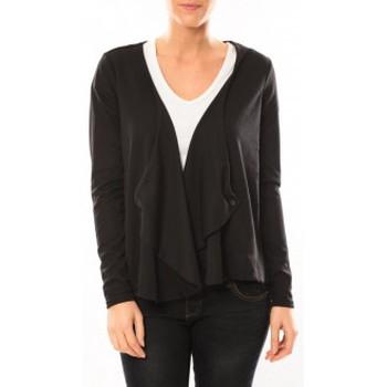 Vêtements Femme Gilets / Cardigans Vero Moda Cardigan Jeansab 10104756 Noir Noir