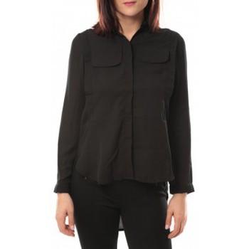 Vêtements Femme Chemises / Chemisiers By La Vitrine Chemise Eloise 285 Noir Noir