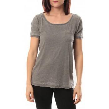 Vêtements Femme T-shirts manches courtes Vero Moda Moog ss Top 10105862 Gris Gris