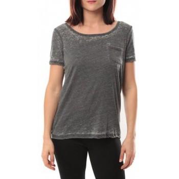Vêtements Femme T-shirts manches courtes Vero Moda Moog ss Top 10105862 Noir Noir