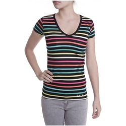 Vêtements Femme T-shirts manches courtes Little Marcel T-shirt Alexina MC 276 Multicolor