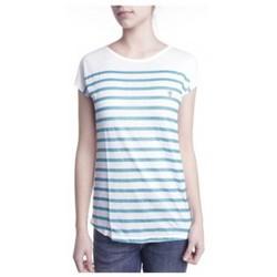 Vêtements Femme T-shirts manches courtes Little Marcel T-shirt Doldi Bleu Turquoise Bleu