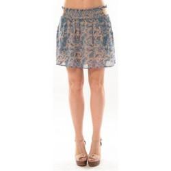 Vêtements Femme Jupes Vero Moda Paisilla HW Short Skirt 10106801 Bleu Beige